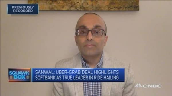 The real king of ride hailing now is Softbank CB Insights cofounder