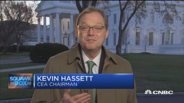 CEA's Hassett: Trump's trade plan designed towards negotiations