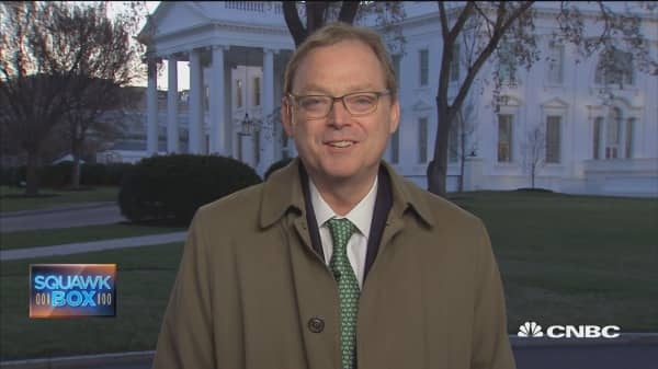 CEA's Hassett on tariffs challenges and trade war fears