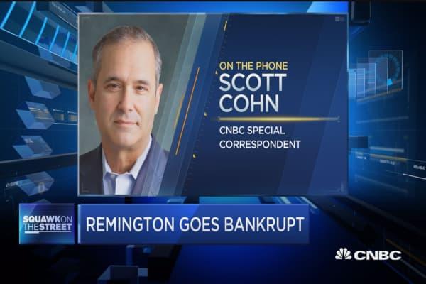 Remington goes bankrupt