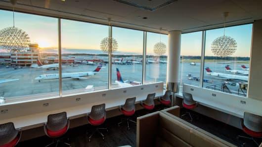 The Delta Lounge in Atlanta