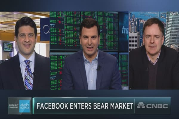 Facebook has plunged into bear market territory. Now what?