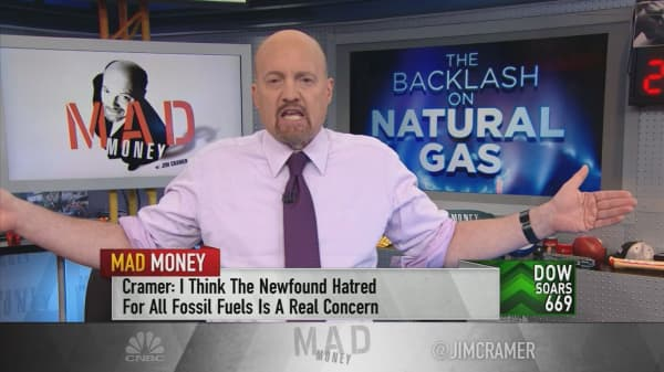 Cramer: You should be scared if you own natural gas stocks