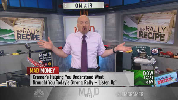 Cramer on what sparked the rally?