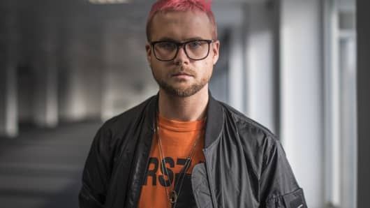 Whistleblower Christopher Wylie on March 26, 2018, in London, England.