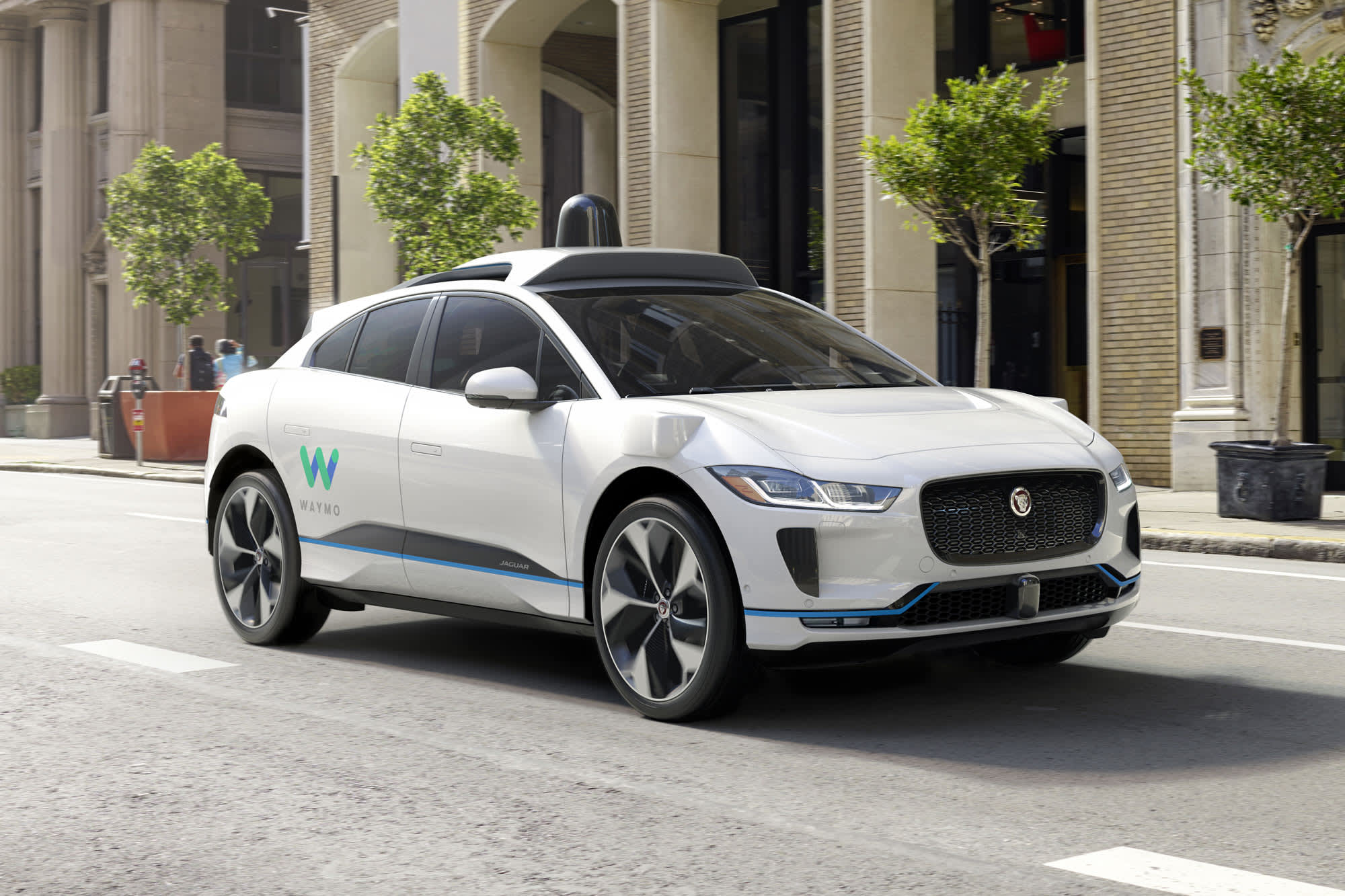 Waymo picks Jaguar for expanding self-driving car fleet