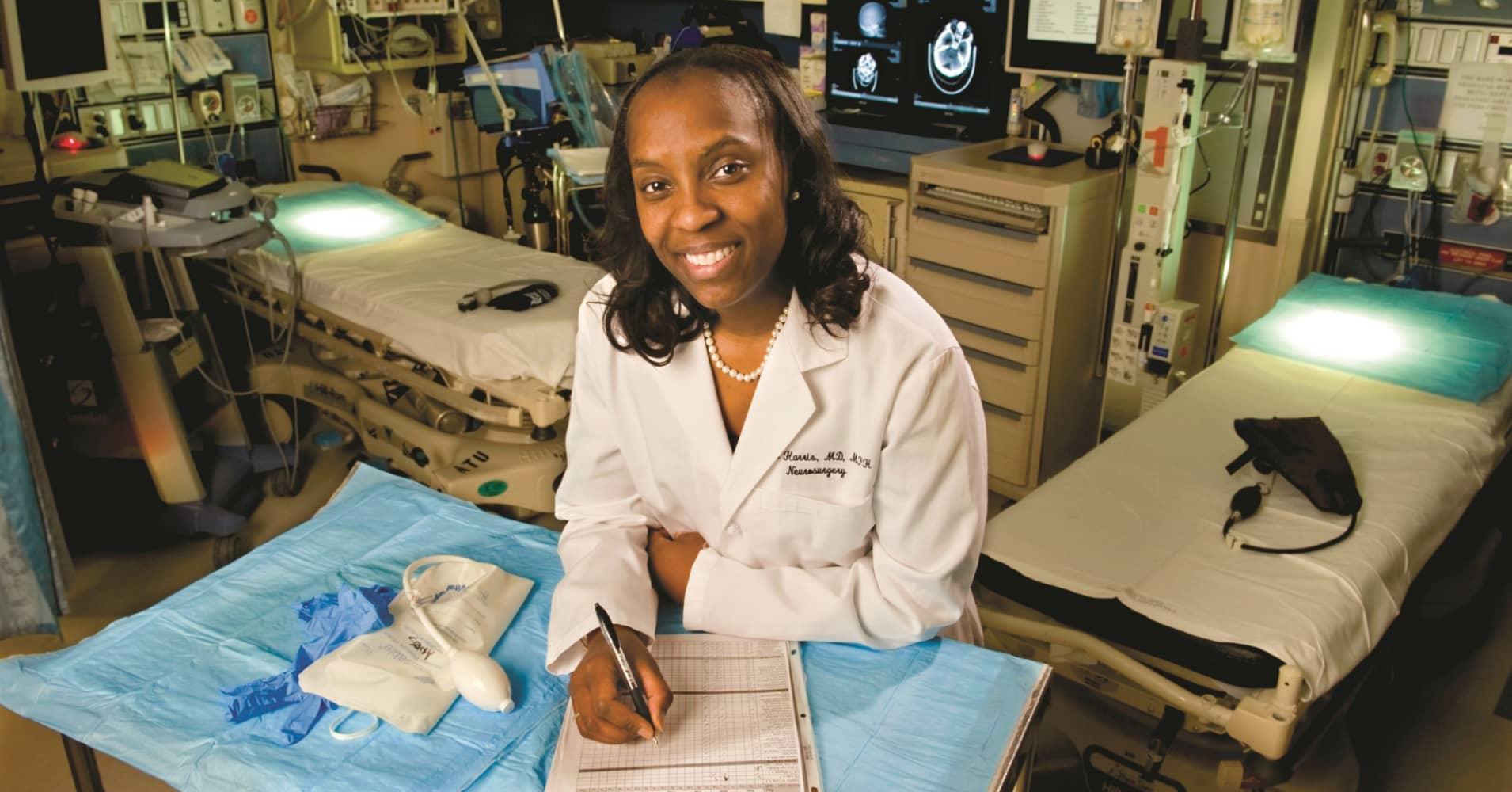Stanford Medicine neurosurgeon Dr. Odette Harris