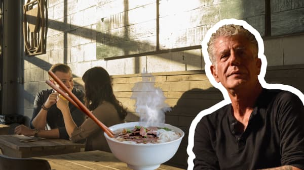 Anthony Bourdain: Find the best places to eat by 'provoking nerd fury'