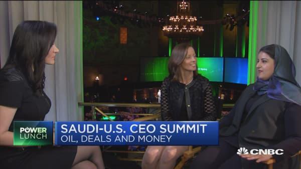 Saudi stock exchange chairwoman on Saudi Aramco IPO, gender politics