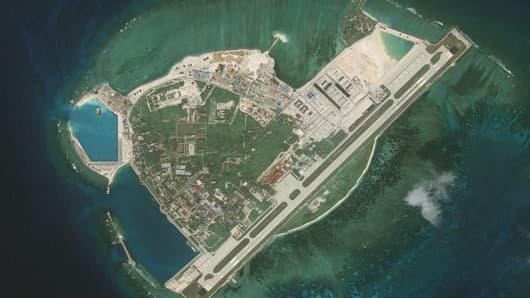 CSIS Asia Maritime Transparency Initiative/DigitalGlobe
