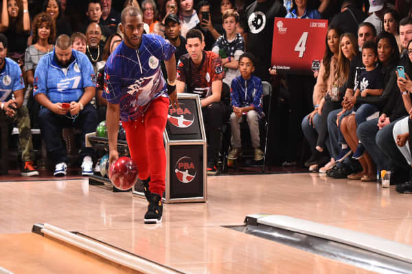 How NBA player Chris Paul spends his time off the court
