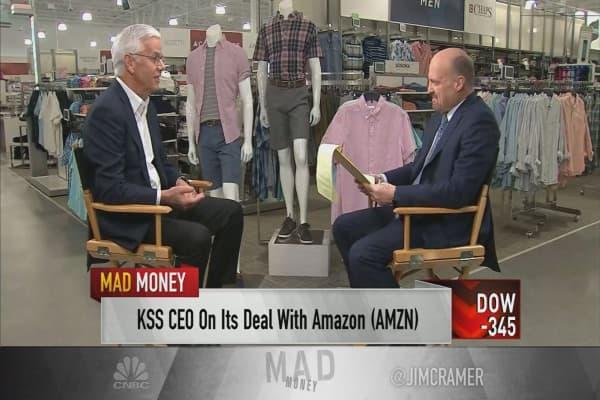 Kohl's CEO says 'big idea' behind Amazon partnership is driving traffic
