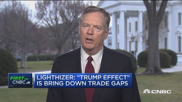 Lighthizer: US strikes 3-part trade agreement with South Korea