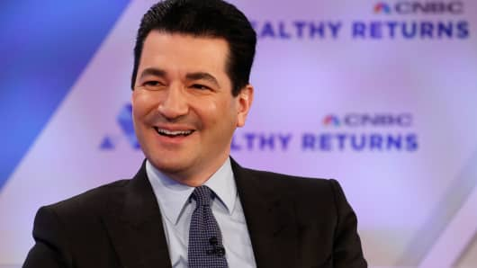 Scott Gottlieb, Commissioner of the Food and Drug Administration, speaking at the CNBC Healthy Returns Conference in New York on March 28th, 2018.