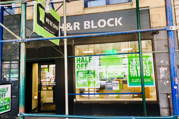 The 72nd St. H&R Block in Manhattan