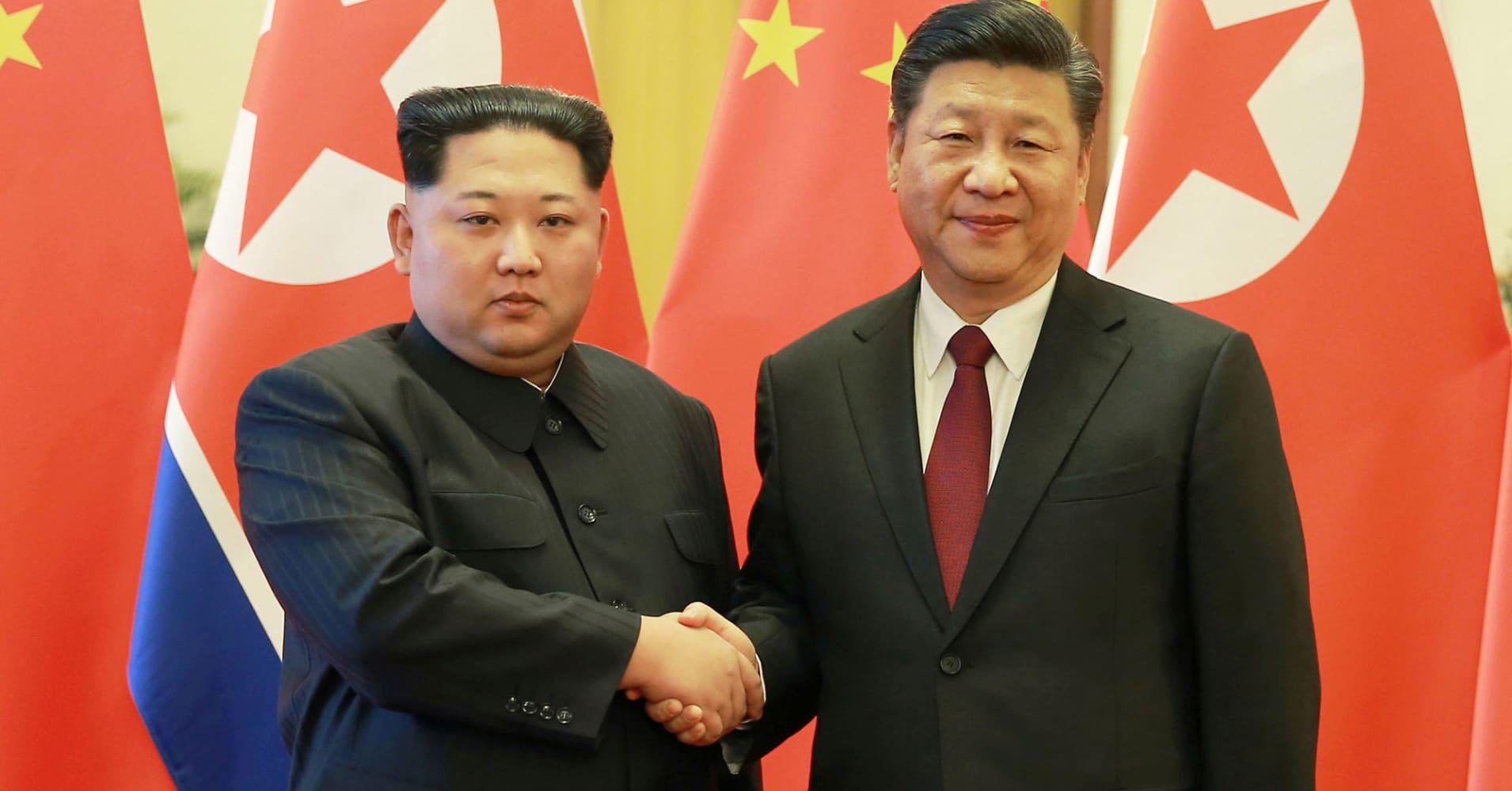 North Korea's Kim Jong Un visits China, state media reports