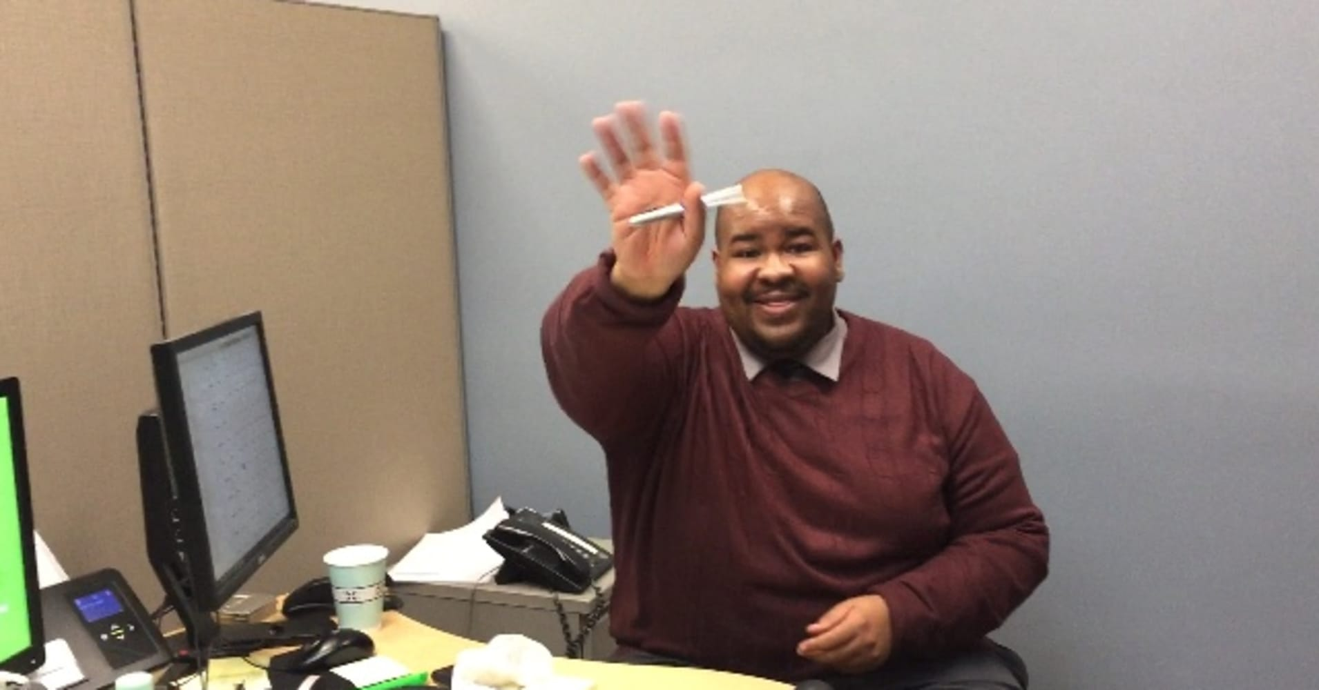 A day in the life of an H&R Block tax pro, who works 11-hour days during tax season