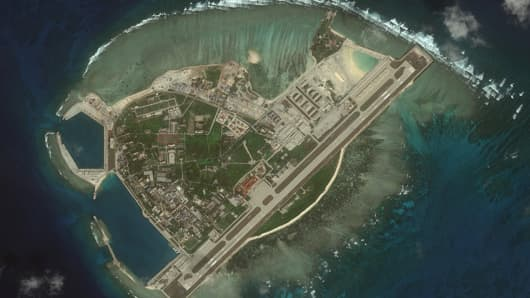 CSIS Asia Maritime Transparency Initiative/DigitalGlobe