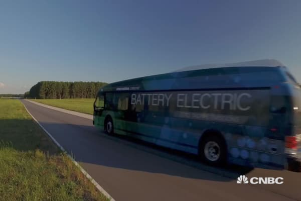 A glimpse into the future of bus travel