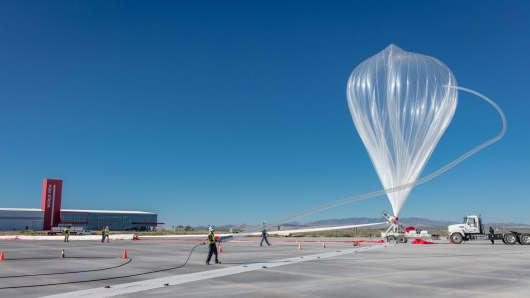 World View conducted its inaugural Stratollite launch from Spaceport Tucson on Sunday, October 1st, 2017