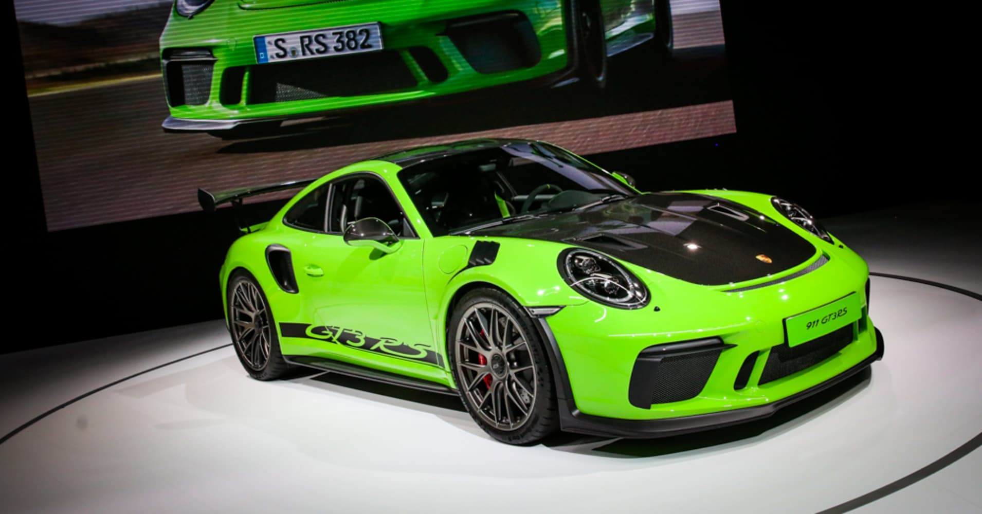 Electric Concept Cars, Beefed-up SUVs And A 'lizard Green