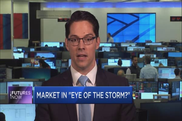 The market's 'in the eye of the storm': BofA