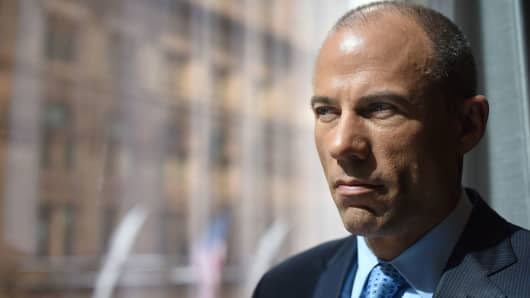 Michael Avenatti, the attorney for Stormy Daniels.