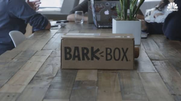 Bark's dog-treat delivery business tries to avoid the typical subscription-model problems