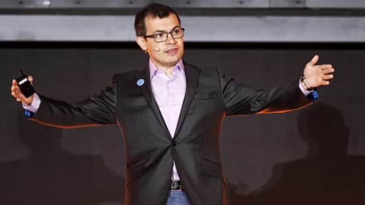 DeepMind CEO Demis Hassabis at a 2017 event in China.