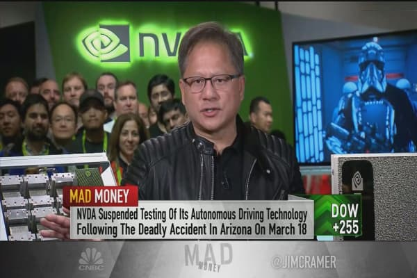 Uber accident drove home the importance of self-driving tech: Nvidia CEO Jensen Huang