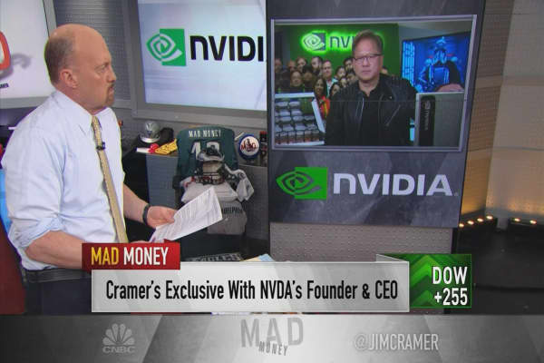 NVDA CEO: Cryptocurrency an 'important driver' for us