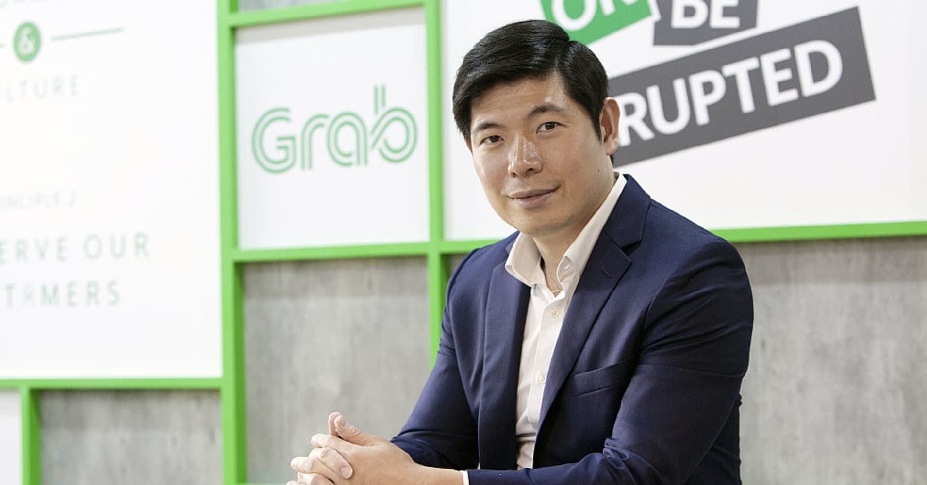 Image result for grab founder