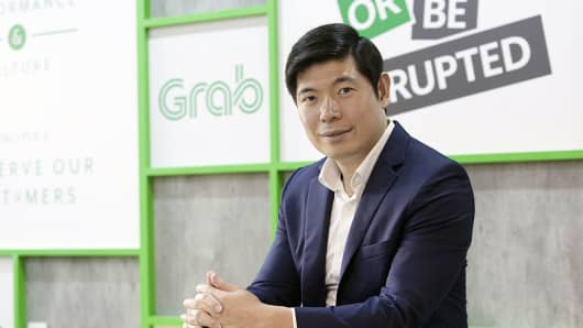 Anthony Tan, co-founder and chief executive officer of Grab.