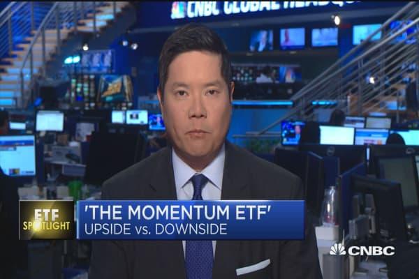 Upside and downside 'mometum' ETFs