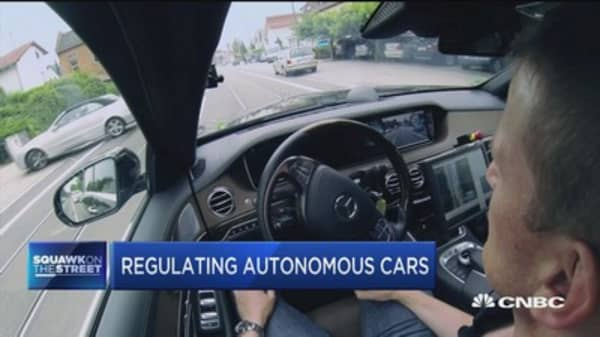Fmr. NHTSA admin. on self-driving car concerns