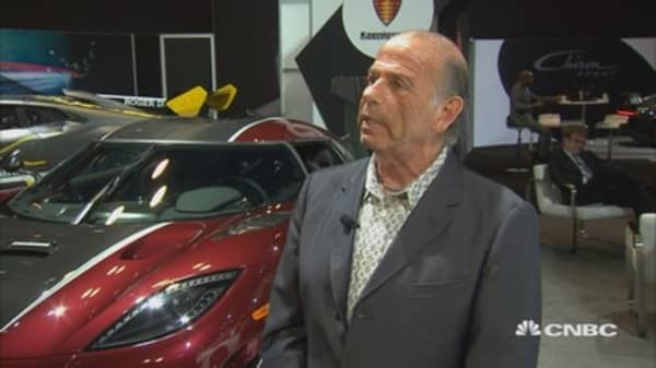 Lamborghini's Urus in high demand