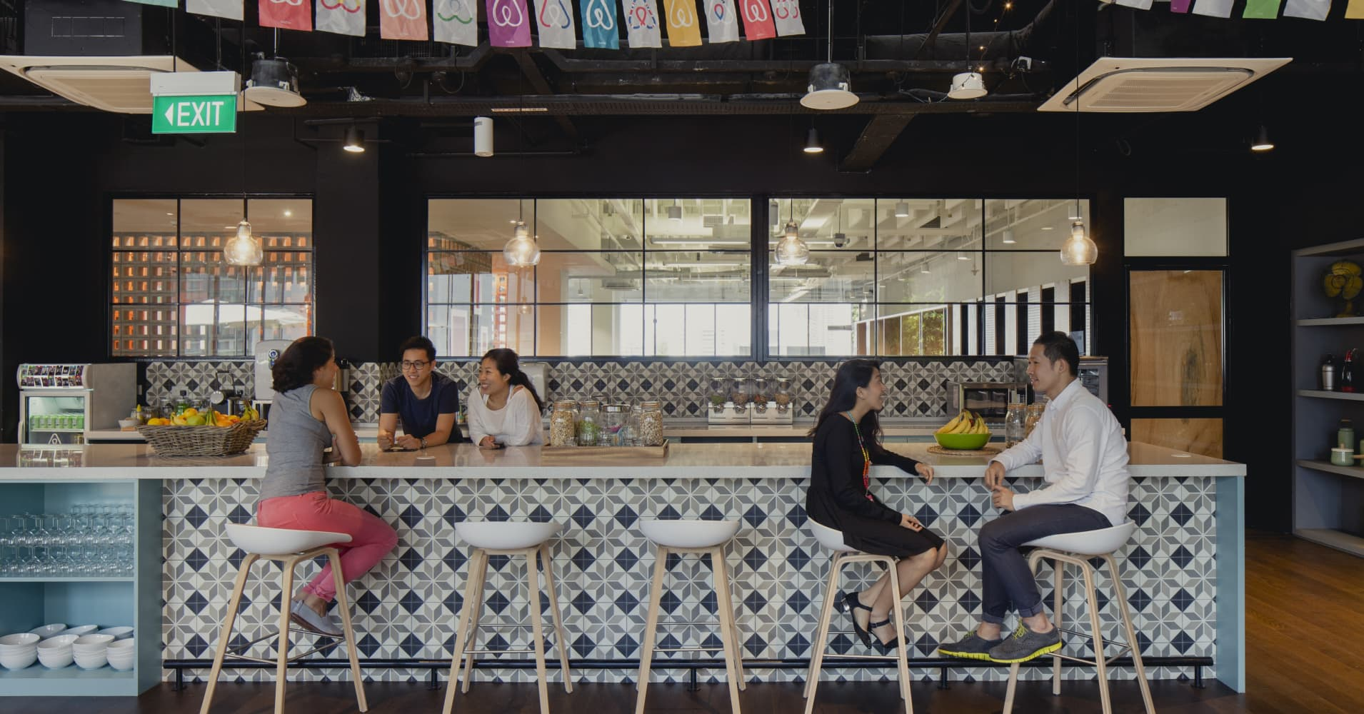 Office Envy: Airbnb Singapore headquarters