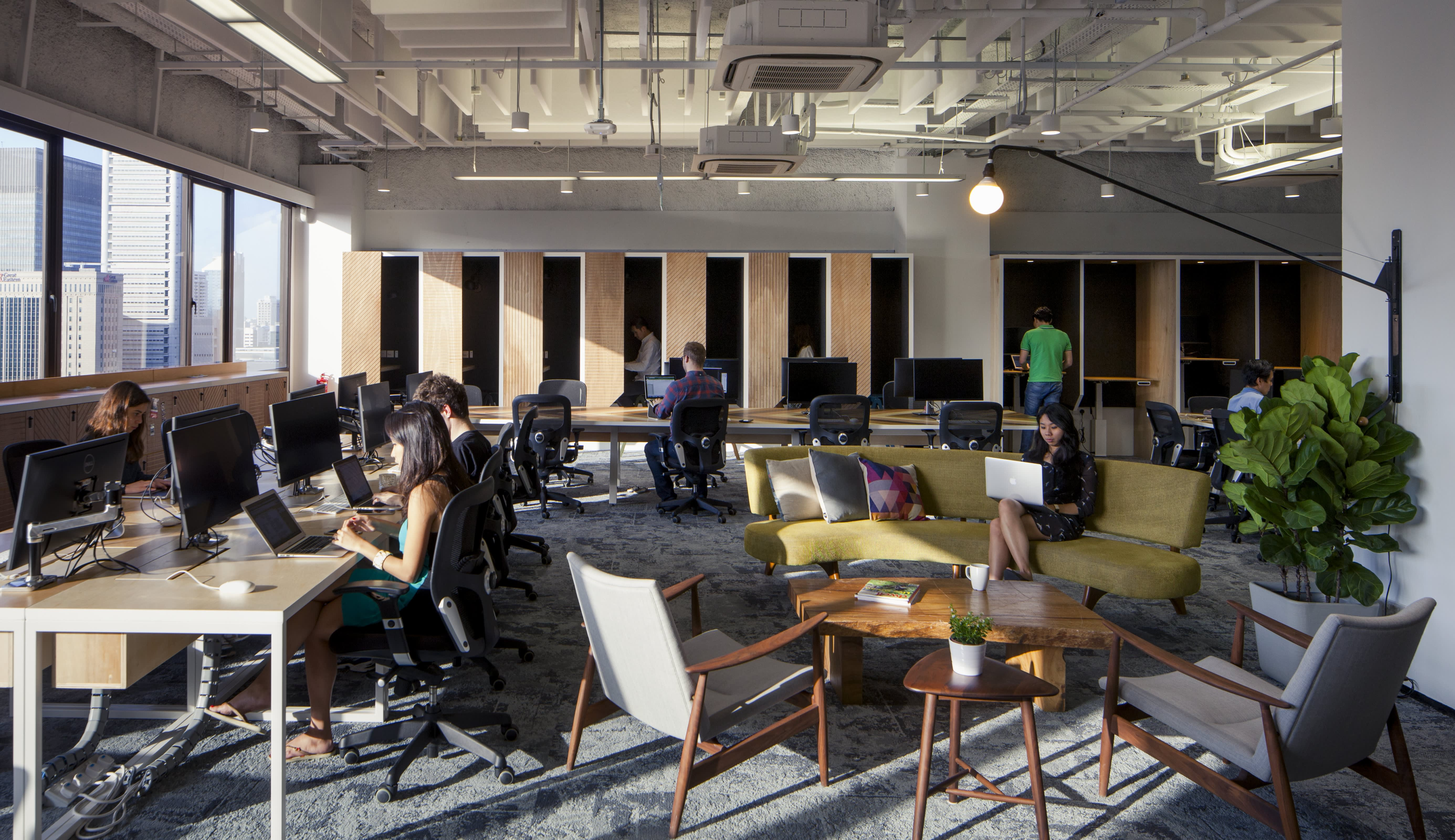 Office Envy Airbnb Singapore Headquarters