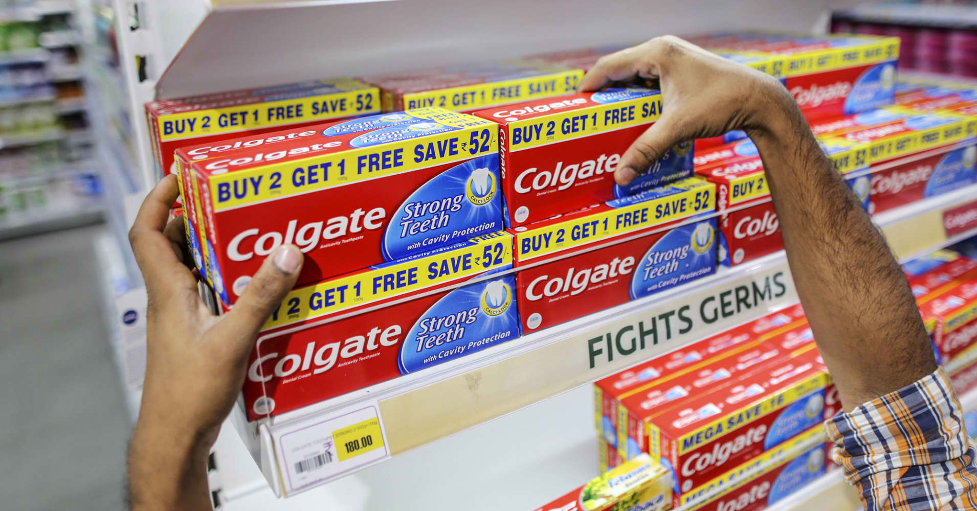 Colgate's sales disappoint on tepid emerging market demand