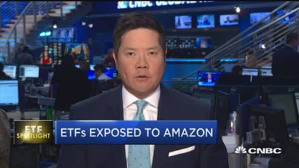 Amazon continues to influence ETF market