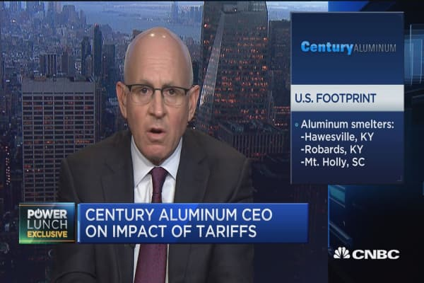 Century Aluminum CEO on the tariff impact
