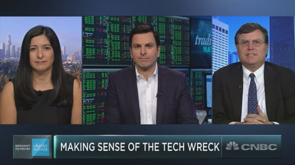 Most of the Nasdaq 100 is still in correction territory. Here's how to play the tech wreck