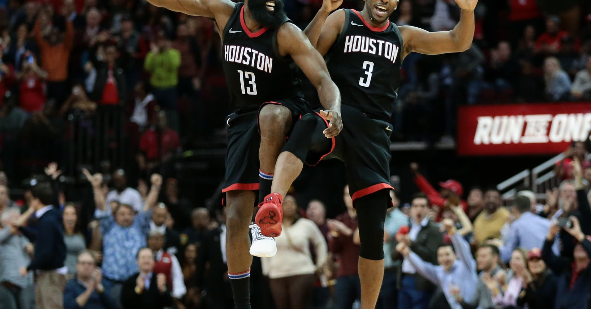 NBA booms amid formula of shorter games and 'rock star' players: Houston Rockets owner