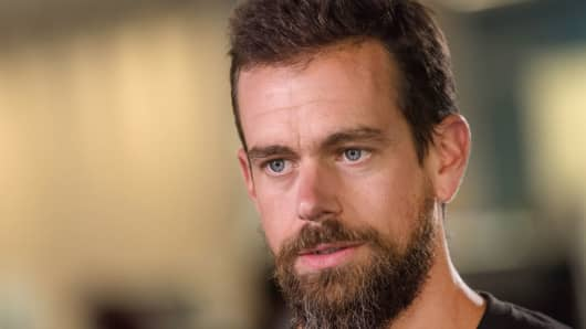 Jack Dorsey, chief executive officer, Twitter.