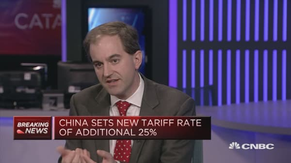 Market reaction to China tariffs 'amazingly broad-based': Strategist