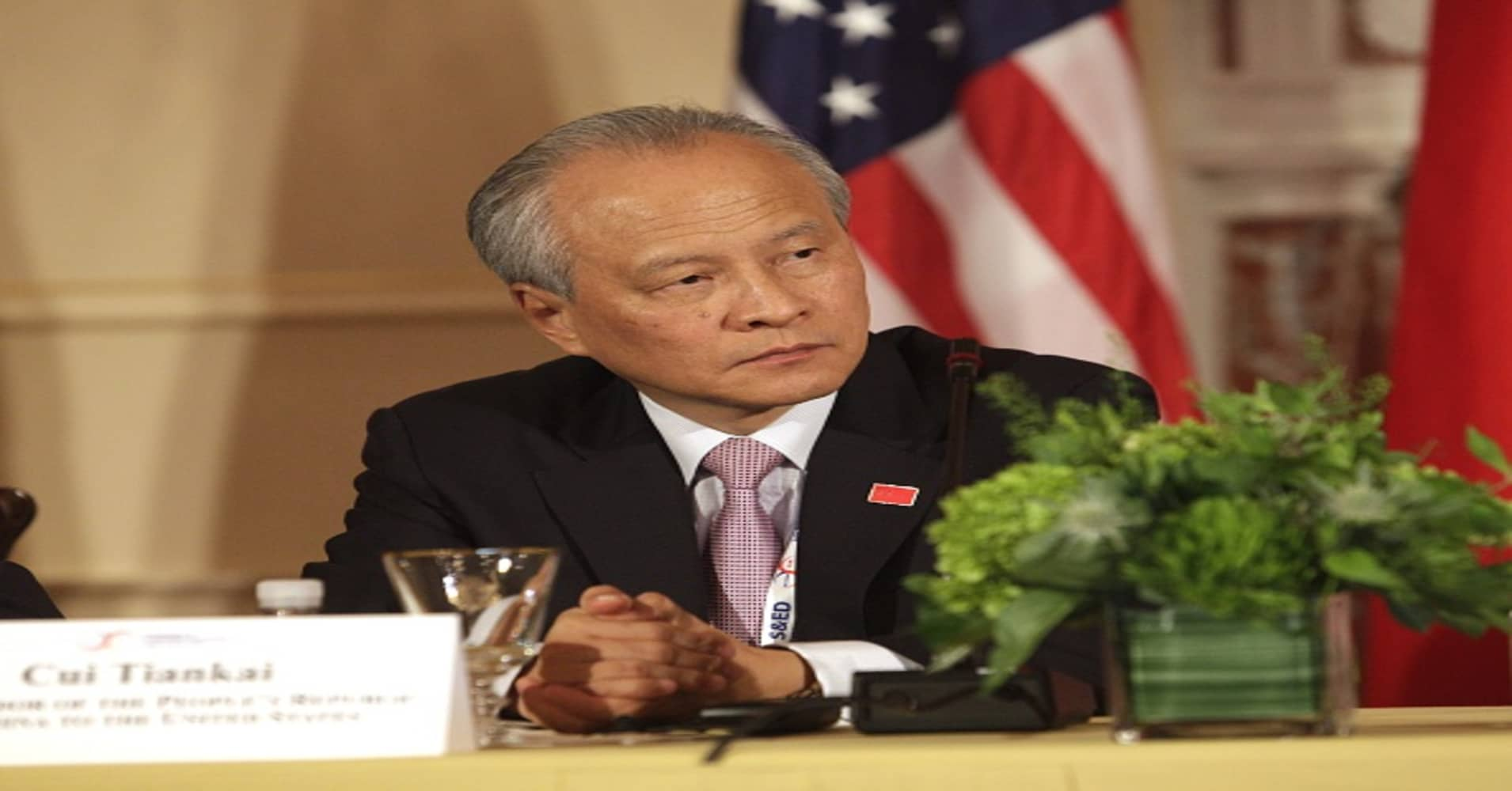 China's ambassador to the US explains why the country is striking back