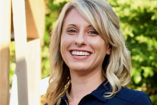 Katie Hill, a Democrat running in California's 25th District.