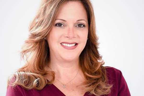 Angie Chirino, a Republican running in Florida's 27th District.