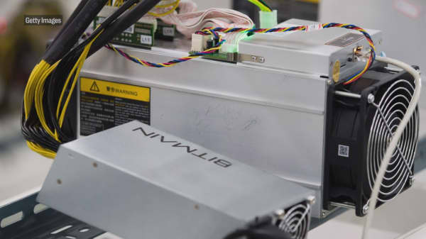 Secretive Chinese bitcoin mining company just revealed a new chip that could hurt AMD, Nvidia