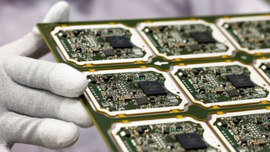 Image result for U.S. Chip Sales Banned in China.